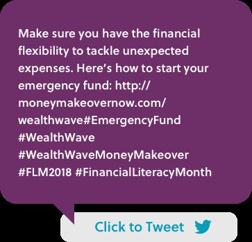 Have financial flexibility